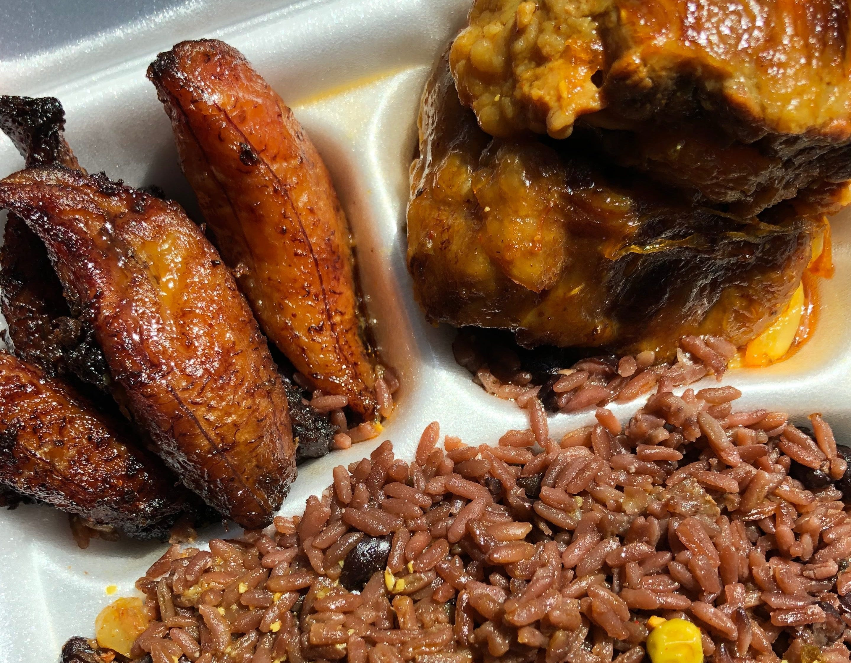 World Bakery & Cafeteria in East Naples serves cafeteria-style Cuban food, like braised oxtails, fried sweet plantains and congris.