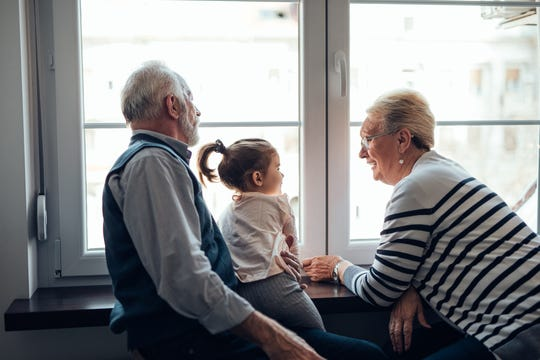 The most common reasons grandparents are cut off from grandchildren iare that the adult child gets divorced, dies or there is a family feud.