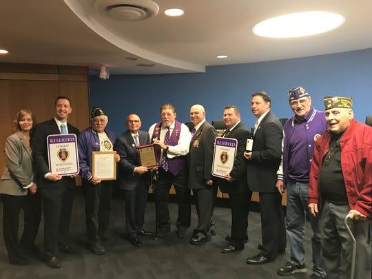 Lodi received the Purple Heart City designation in March.