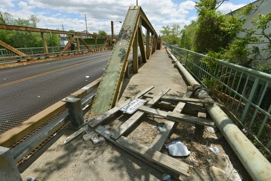 The Eighth Street Bridge was built was 103 years old by the time it was replaced.