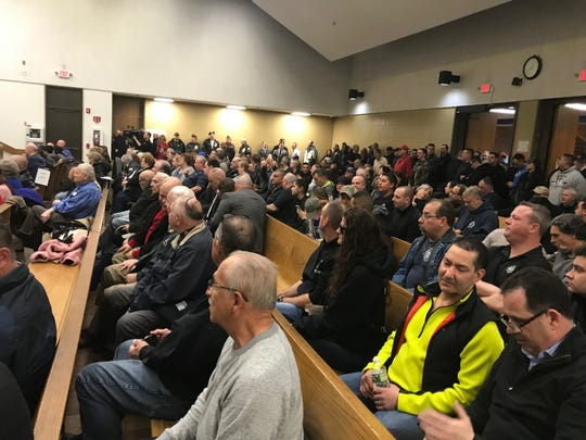 The Clifton City Council chambers were packed Tuesday night as people came out in support of Clifton police who also serve in military. These officers feel as if they have been discriminated against by the city.