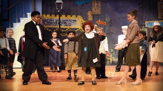 Annie Jr., will perform this weekend at the Costick Center in Farmington Hills.