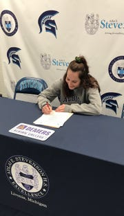 Stevenson's Haley Demers has signed to play soccer at Albion.