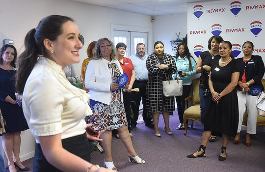St. Landry Chamber of Commerce CEO Raquella Manuel welcomes Re/Max Excellence to Opelousas on the occasion of their recent grand opening.