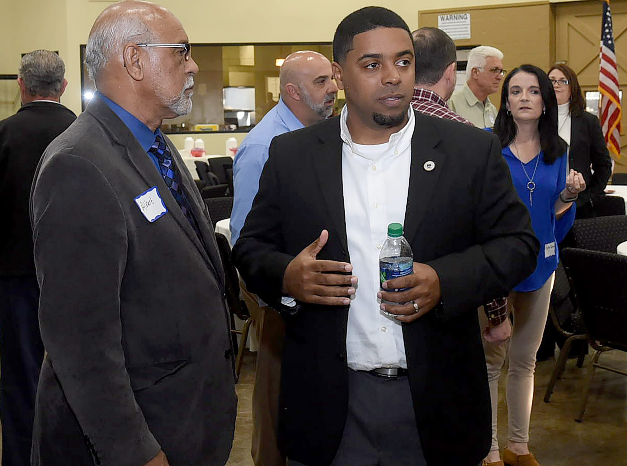 Fundraising event honoring Rep. Dustin Miller held Tuesday at the Equine Event Center in Opelousas.