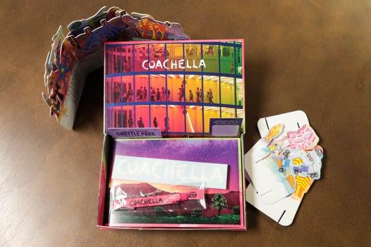 The 2019 Coachella Valley Music and Arts Festival wristband box