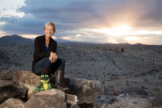 Dr. Catherine Svehla has her own podcast 'Myth in the Mojave'