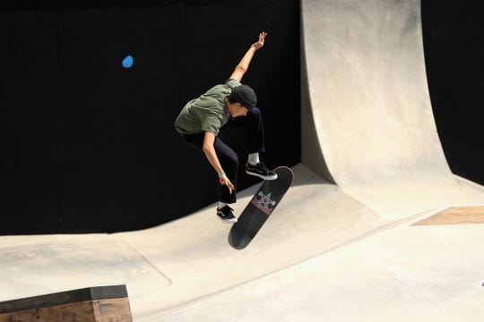 Jagger Eaton of Mesa is among 16 skateboarders on USA Skateboarding's first national team. Skateboarding makes its Olympics debut at Tokyo in 2020.