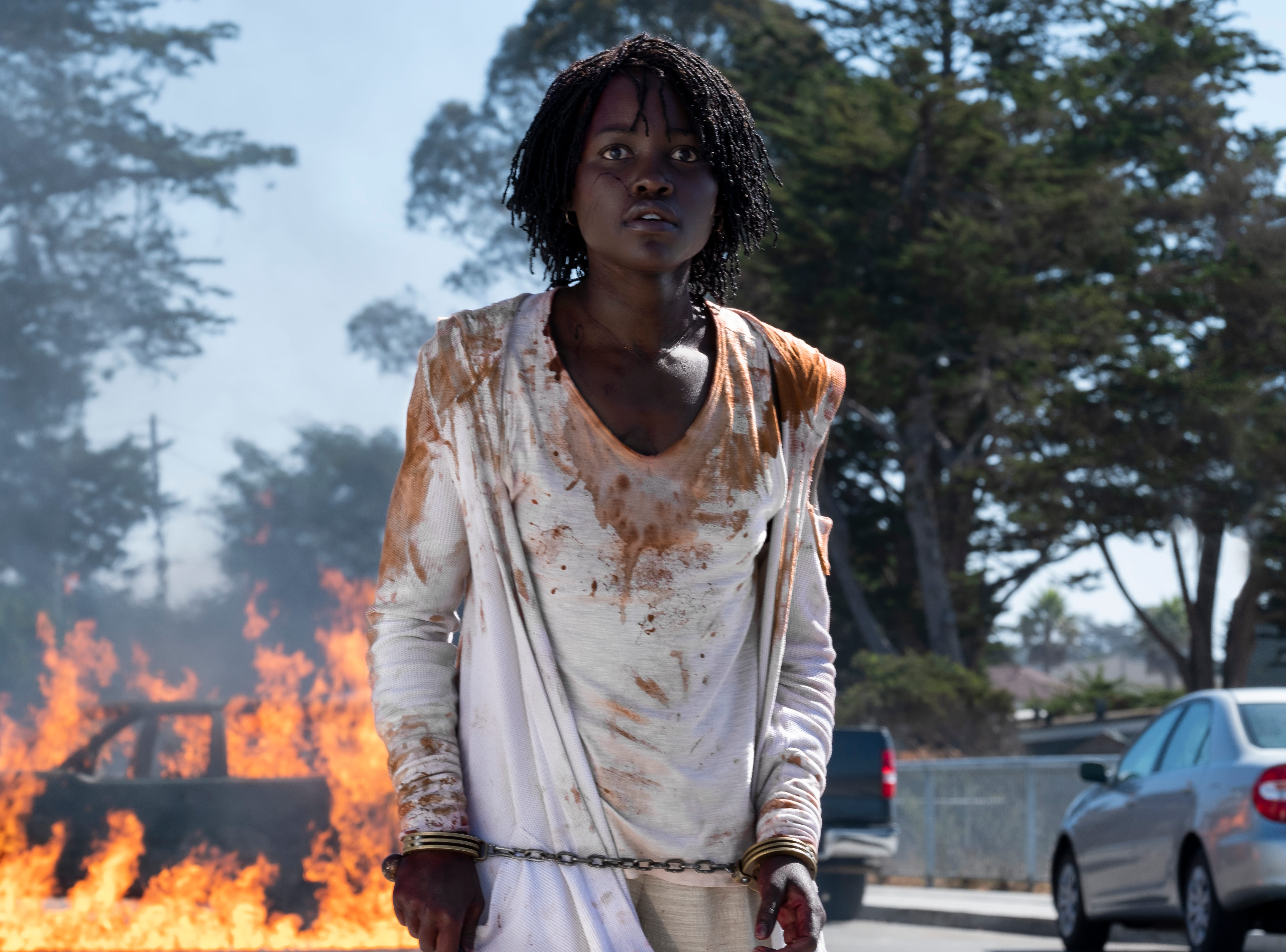 """Lupita Nyong'o stars in """"Us."""" From the review: """"It's relentless — and it's thrilling."""" (4 stars)"""