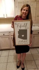 Jen Fifield closed on her first home this month.
