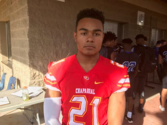 Chaparral RB Jared Williams