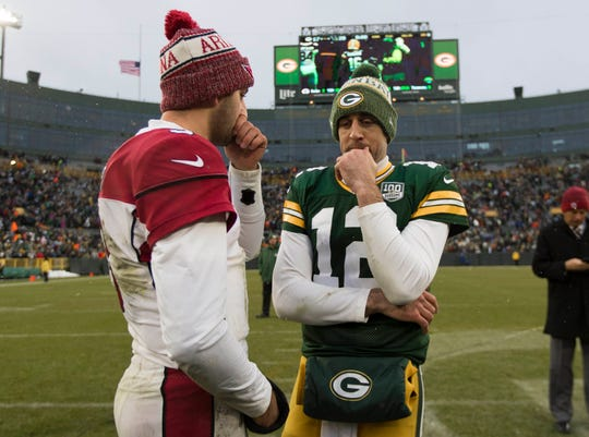 Could Josh Rosen learn behind Aaron Rodgers on the Green Bay Packers, like Rodgers learned behind Brett Favre?