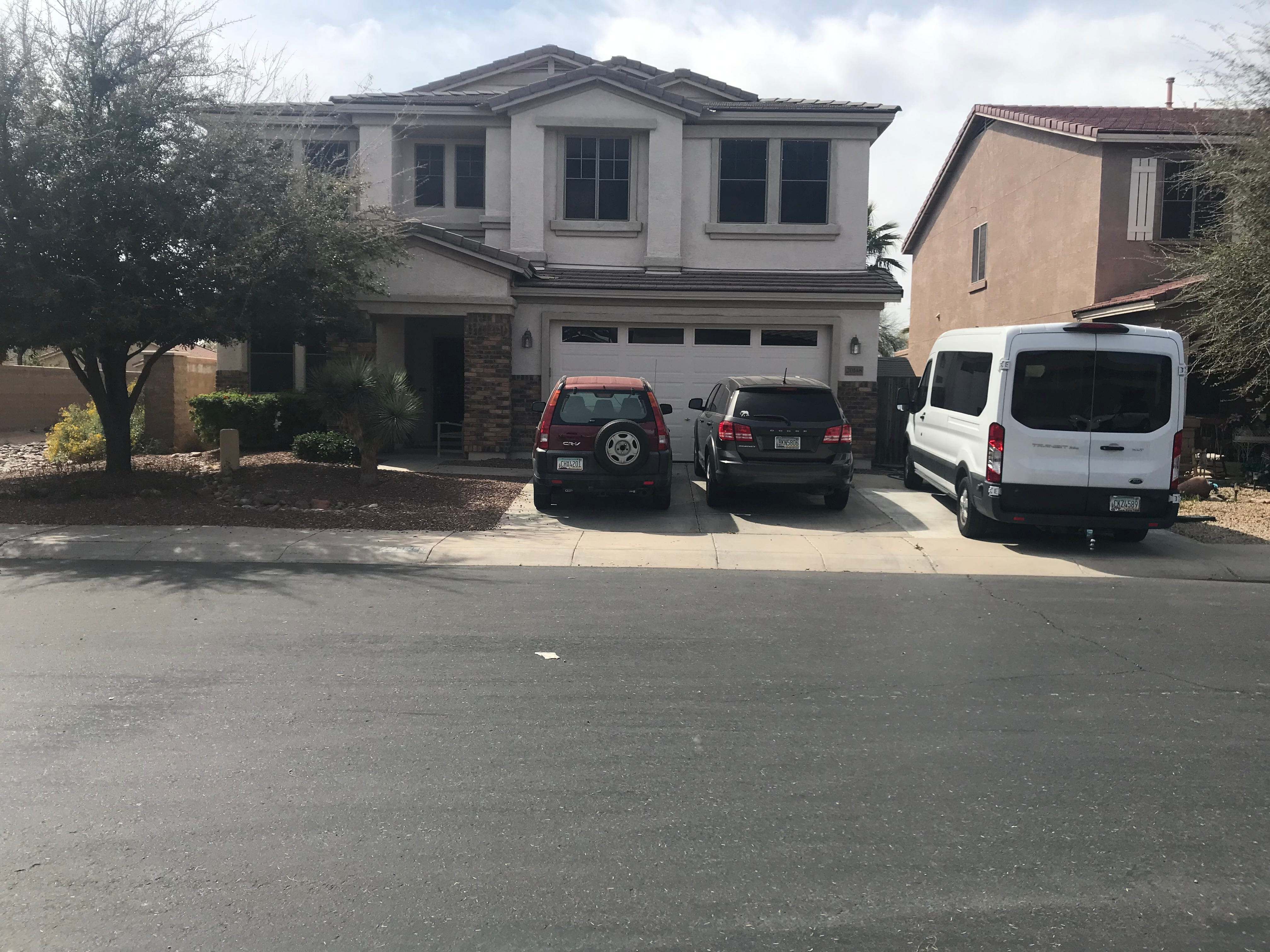 The Maricopa home of Machelle Hobson who is accused of abusing her 7 adopted children and using them to create YouTube videos.