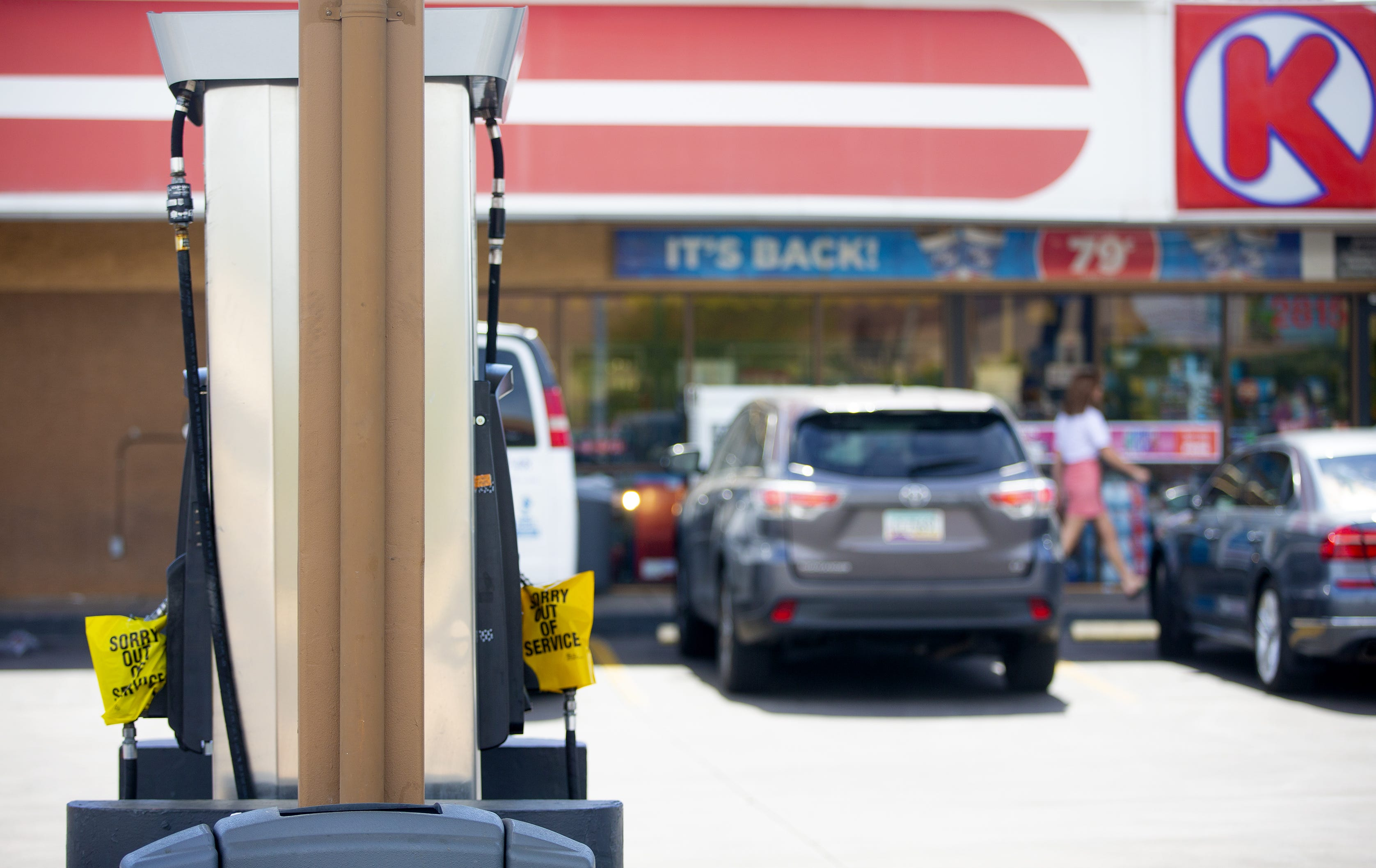 Arizona circle k and fry s stores are still experiencing fuel