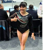 Alexa Moreno, gimnasta mexicana.