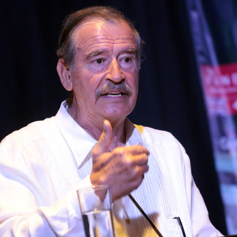 Vicente Fox: 'Me hace falta pensión, pero vivo de trabajar'