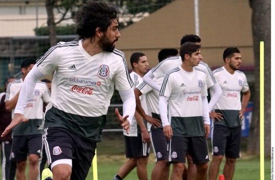 La Selección Mexicana entrena bajo la dirección de 'Tata' Martino.