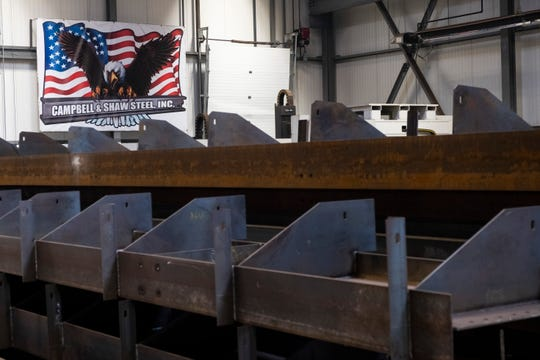 "Campbell & Shaw Steel, Inc., a structural steel fabricator in Marysville, is being recognized as one of the 2019 ""Michigan 50 Companies to Watch,"" an awards program presented by Michigan Celebrates Small Businesses."