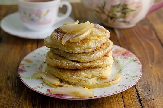 These pancakes are as easy as they are delicious.