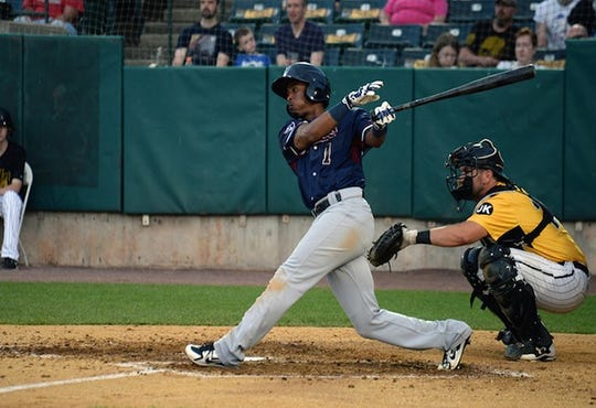 Justin Trapp had two doubles on Thursday in the York Revolution win.