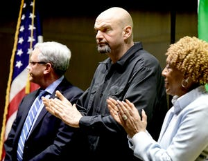 """""""At the end of the day, it's been disappointing to see the amount of coverage that fringe protests have gotten rather than the steady hand carrying the day,"""" Lt. Gov. John Fetterman told The York Dispatch."""