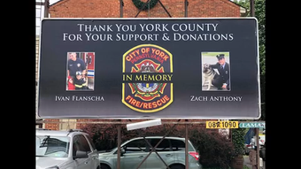 York City Fire Chief Chad Deardorff reflects on the department and community support one year after the tragedy.
