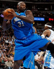 In Adonal Foyle's final NBA season, he and the Orlando Magic made it to the NBA Finals where they lost to the Los Angeles Lakers.
