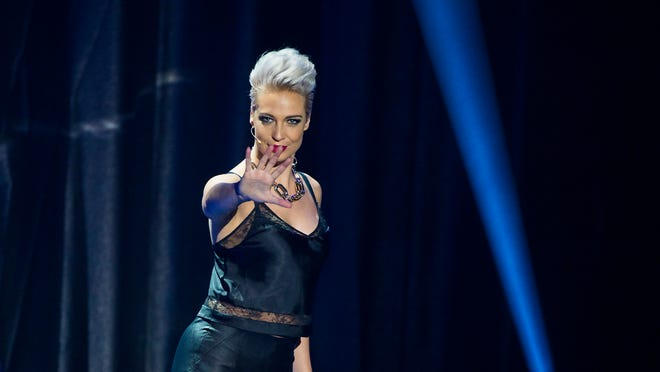 """Magician and escapist Sabine performs with """"The Illusionists: Live from Broadway"""" on Tuesday in Redding."""