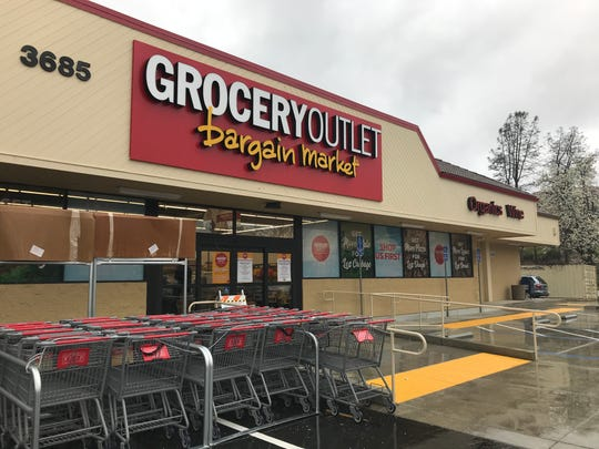 About the only thing the new Grocery Outlet in west Redding is waiting on are customers. The store opens March 28, 2019.