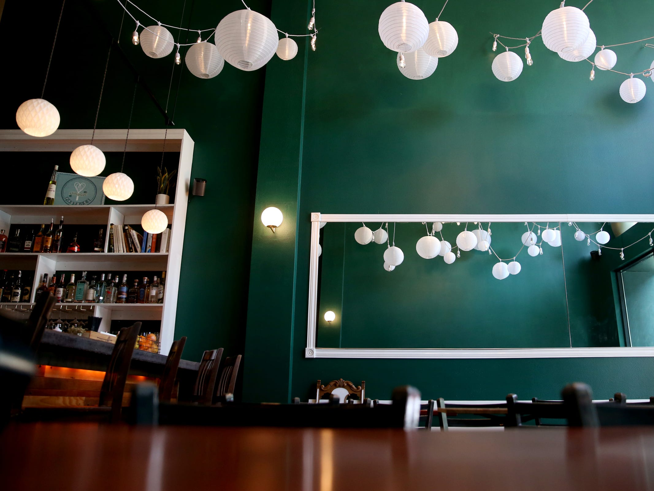 Epilogue Kitchen & Cocktails in Salem on March 20, 2019. The restaurant opens in downtown Salem on Friday.