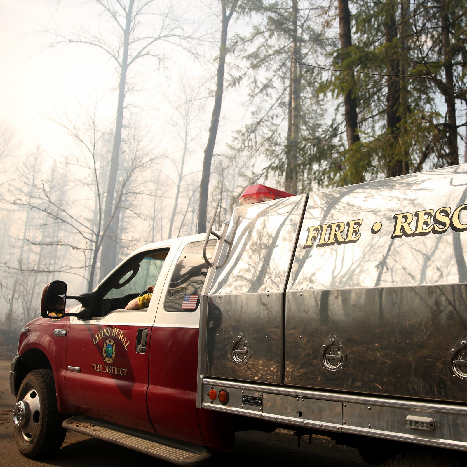 Santiam Park Fire burns 189 acres near Lyons, but all evacuations lifted