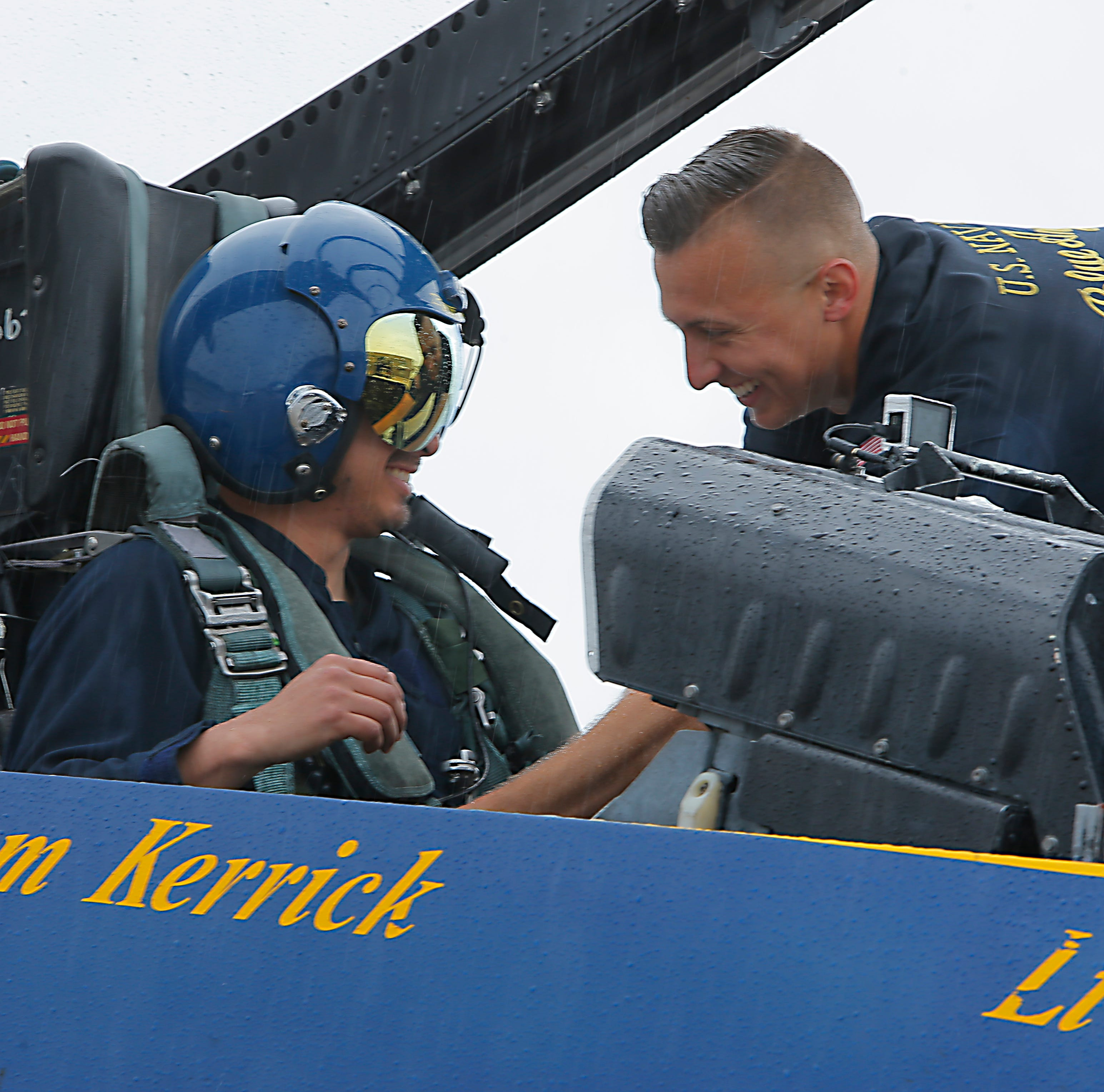 Salinas cop overcomes fear of flying in Blue Angels' fighter jet