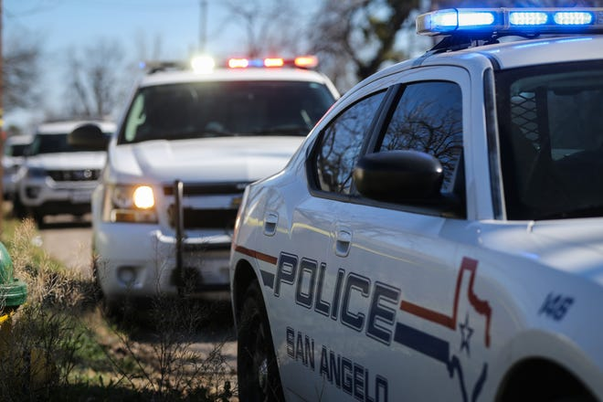 Generic image of San Angelo Police Department vehicles.