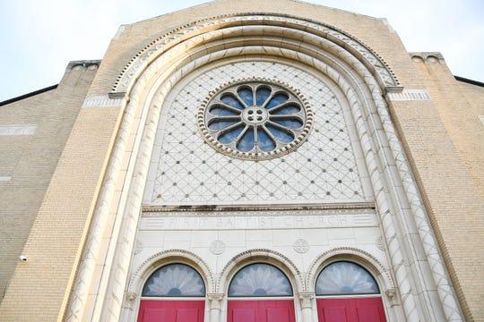 First Baptist Church, 37 E. Harris Ave.