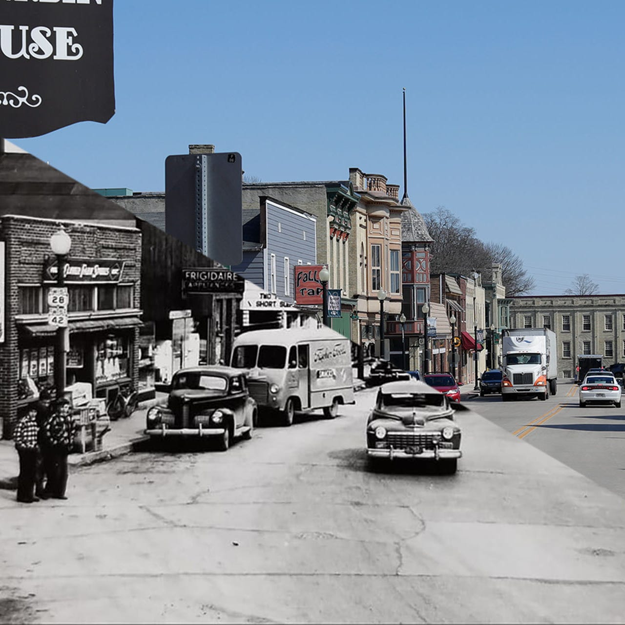 Throwback Thursday | Pine Street Sheboygan Falls