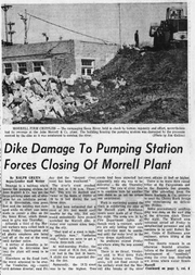 "The John Morrell's packing plant was put out of operation for ""an indefinite period"" because a building that housed its pumping station was damaged, according to an Argus Leader article on April 11, 1969."