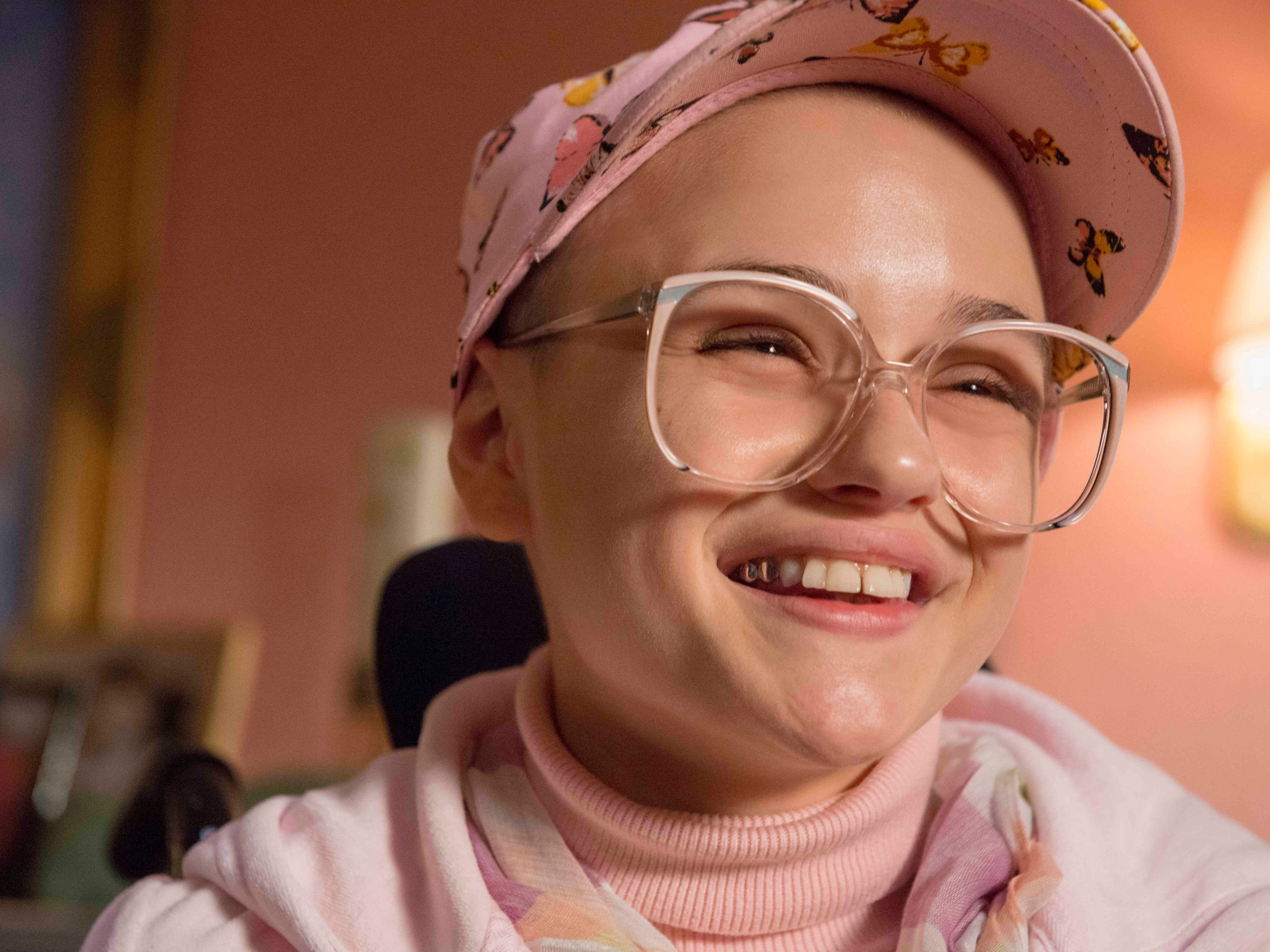 """The Act""  "" --  Gypsy Rose Blanchard (Joey King) shown."