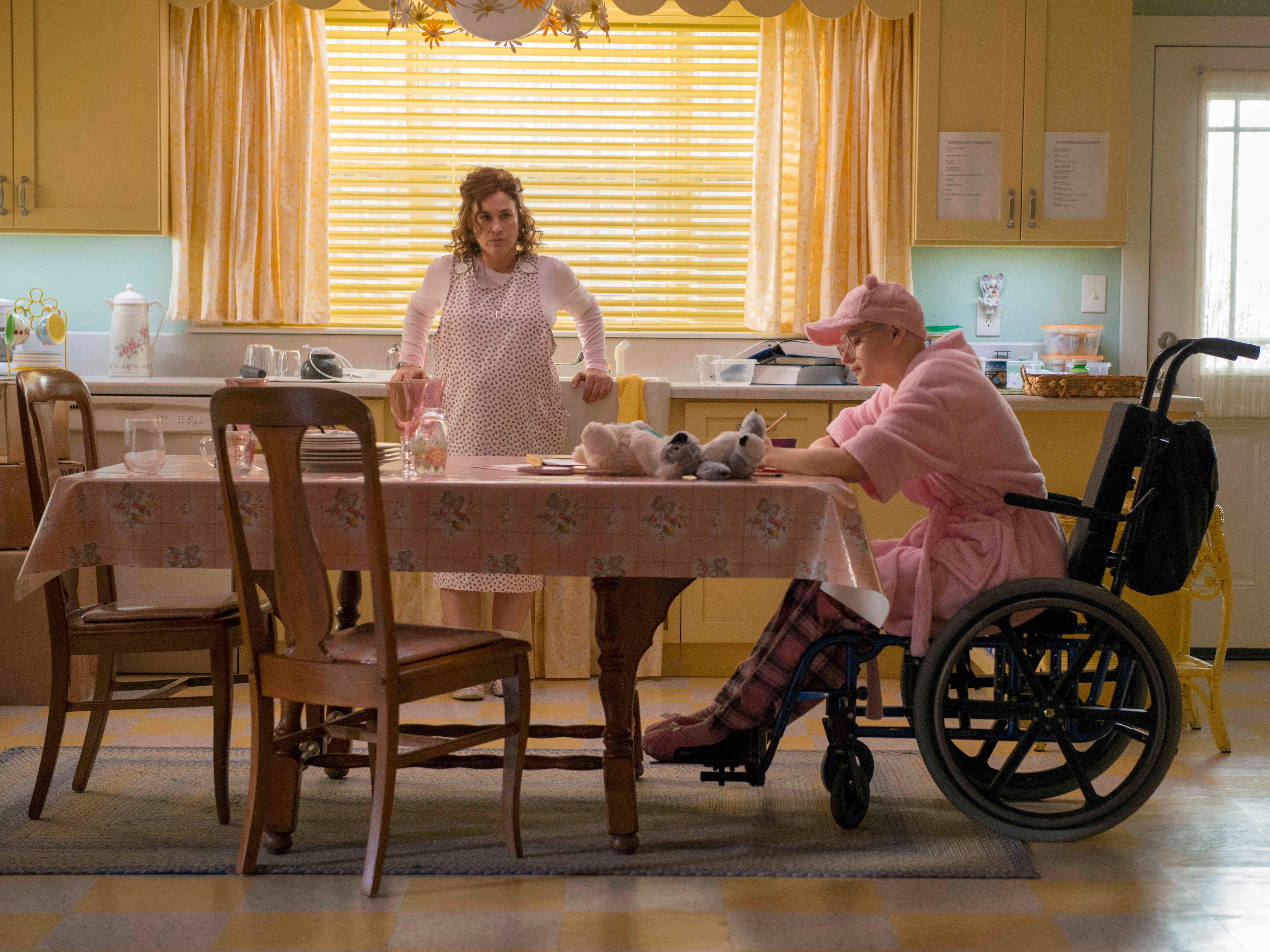 """The Act"" --  Dee Dee Blanchard (Patricia Arquette), Gypsy Rose Blanchard (Joey King) shown."