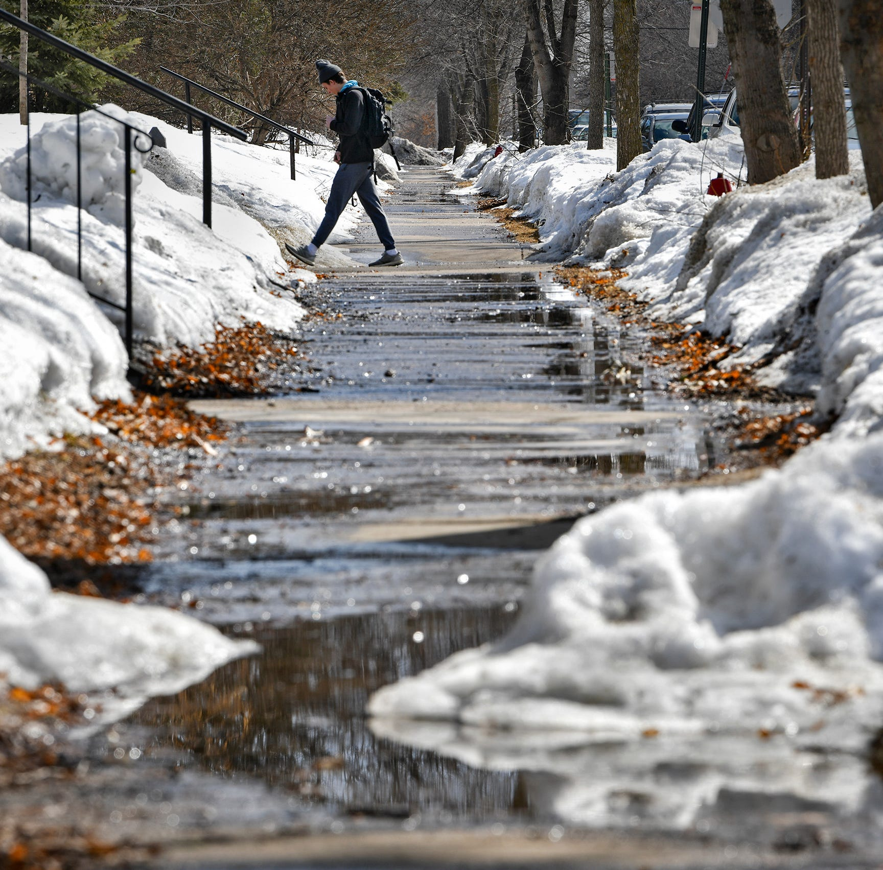 Yes, it's true. Expect snow — possibly a lot of it — by Friday