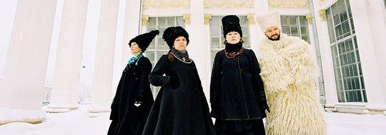 DakhaBrakha delivers a Ukrainian folk-rock circus-punk sound.