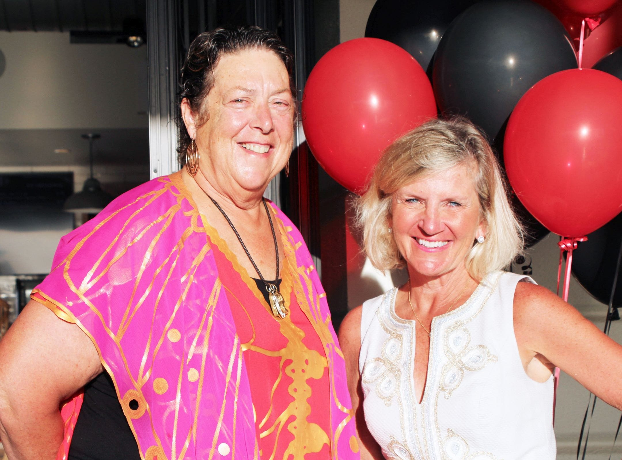 Susan Vanderstricht and Debra Littleson at the John's Island Community Service League's annual gala on March 9.