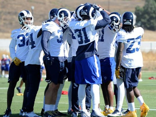 Finding the Los Angeles Rams a permanent home in Thousand Oaks remains the City Council's top priority. The team has agreed to keep training at California Lutheran University in Thousand Oaks for the 2019 season.