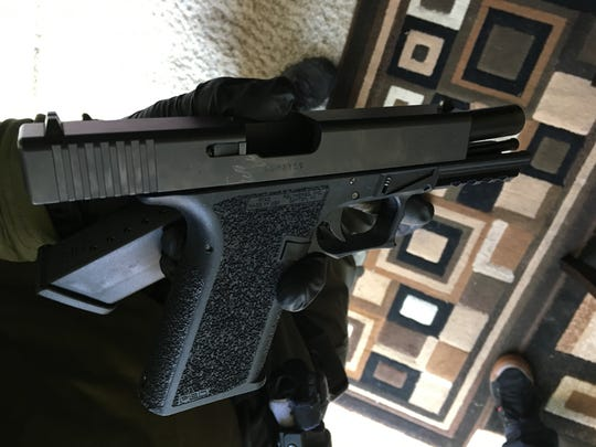 Three guns were found as authorities in the Ventura County Sheriff's Office and Oxnard Police Department investigated a series of gang-related shootings.