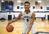 St. Augustine's Charles Solomon talks about highlights from the season, becoming a leader and being chosen as The Daily Journal Boys' Basketball Player of the Year.