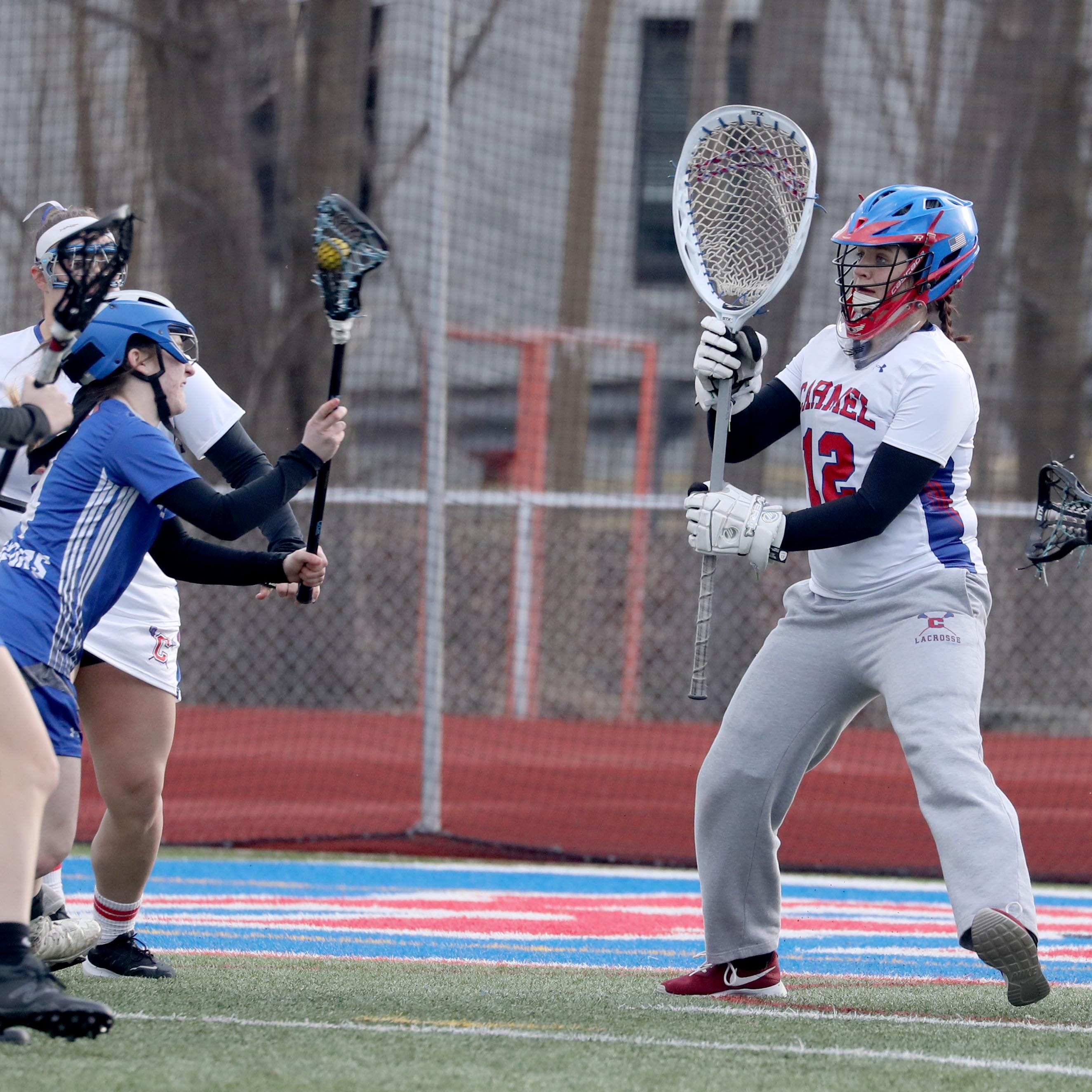Country over sports: Carmel goalie foregoes college lacrosse for the Marines