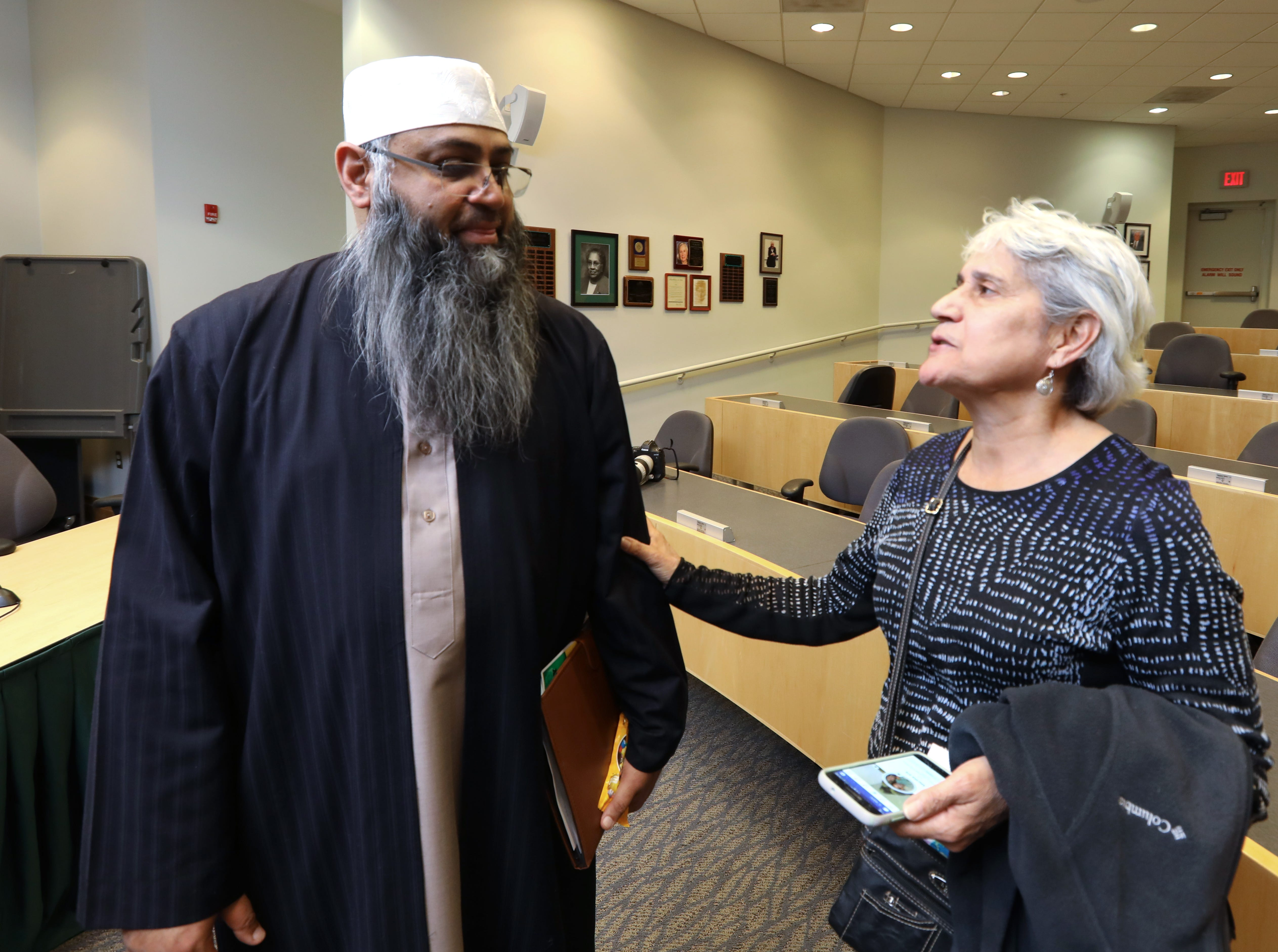 Interfaith Symposium held at Rockland Community College March 20, 2019.