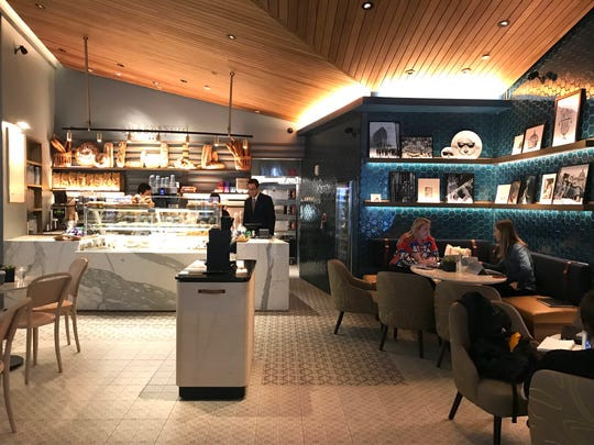 Queensyard Cafe at Hudson Yards. Photographed March 18, 2019.