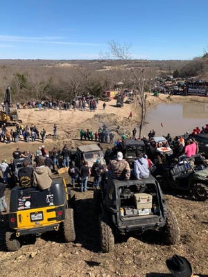 All-terrain enthusiasts gather at Rednecks with Paychecks, an amusement venue in Saint Jo where a man drowned March 19, the latest in a string of deaths at the annual event.