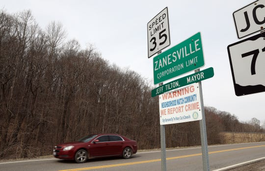A pair of properties on either side of Ohio 719 on the edge of the city limits are among those being transferred to the Zanesville Community Improvement Corporation.