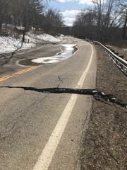 Heavy rainfall in February caused a 15 acre landslide along Ohio 376. The highway was closed due to heavy damage.